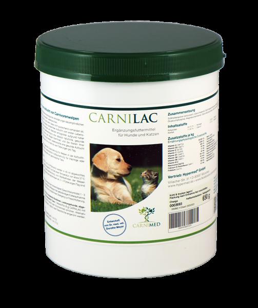 CarniLac - Welpenmilch zur mutterlosen Aufzucht